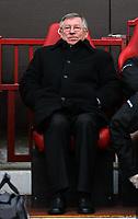 Photo: Paul Thomas.<br /> Manchester United v Wigan Athletic. The Barclays Premiership. 26/12/2006.<br /> <br /> Sir Alex Ferguson, Man Utd manager.