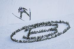 06.01.2021, Paul Außerleitner Schanze, Bischofshofen, AUT, FIS Weltcup Skisprung, Vierschanzentournee, Bischofshofen, Finale, im Bild Decker Dean (USA) // Decker Dean of the USA during the final of the Four Hills Tournament of FIS Ski Jumping World Cup at the Paul Außerleitner Schanze in Bischofshofen, Austria on 2021/01/06. EXPA Pictures © 2020, PhotoCredit: EXPA/ JFK