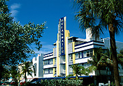 Breakwater Hotel, the deco district, South Beach, Miami, Florida