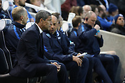 Brighton Manager, Chris Hughton during the EFL Sky Bet Championship match between Brighton and Hove Albion and Birmingham City at the American Express Community Stadium, Brighton and Hove, England on 4 April 2017.