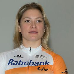 PAPENDAL (NED) wielrennen<br />Het Rabobank-Liv vrouwenteam en het Developmentteam werden op Papendal voorgesteld.<br />Roxane Kneteman (Nijkerk) heeft ook nog Olympische ambities