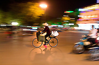 Downtown in Hanoi's old quarter is a great place to hang out and capture some of the colour and movement of this distinctive Asian city.