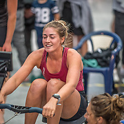Jackie Gowler Rowing NZ team Race #24  03:00pm<br /> <br /> www.rowingcelebration.com Competing on Concept 2 ergometers at the 2018 NZ Indoor Rowing Championships. Avanti Drome, Cambridge,  Saturday 24 November 2018 © Copyright photo Steve McArthur / @RowingCelebration