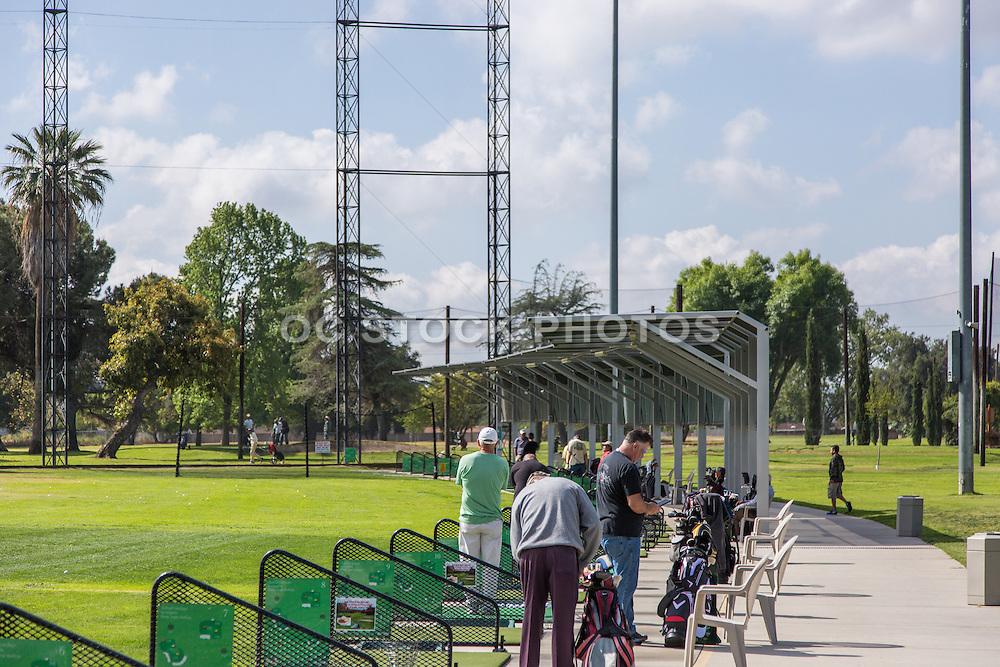Driving Range at Glen Oaks Golf & Learning Center on Dawson Avenue in Glendora