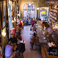 Sovereign Remedies is a bar and eatery located at 29 N Market Street in downtown Asheville, North Carolina.