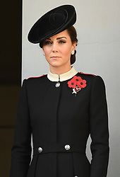The Duchess of Cambridge attends the Remembrance Sunday and the Centenary of the Armistice Service at the Cenotaph, Whitehall, London, UK, on the 11th November 2018. 11 Nov 2018 Pictured: The Duchess of Cambridge attends the Remembrance Sunday and the Centenary of the Armistice Service at the Cenotaph, Whitehall, London, UK, on the 11th November 2018. Photo credit: James Whatling / MEGA TheMegaAgency.com +1 888 505 6342