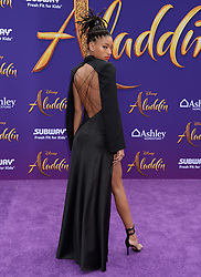 Aladdn World Premiere. 21 May 2019 Pictured: Willow Smith. Photo credit: MEGA TheMegaAgency.com +1 888 505 6342