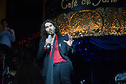 RUSSELL BRAND, The Hoping Foundation  'Rock On' benefit evening for Palestinian refugee children.  Cafe de Paris, Leicester Sq. London. 20 June 2013