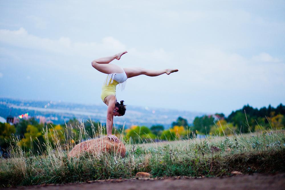 Cassie Drew at Flat Irons, Boulder COLORADO