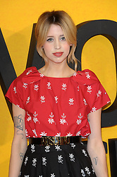 Peaches Geldof  attends The Wolf Of Wall Street UK film premiere, for film based on true life crime drama about a New York stockbroker and Wall Street corruption at Odeon Leicester Square, 24-26 Leicester Square, London, England.  Thursday, 9th January 2014. Picture by Chris Joseph / i-Images