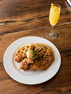 Chicken and Waffles at Poogan's Porch