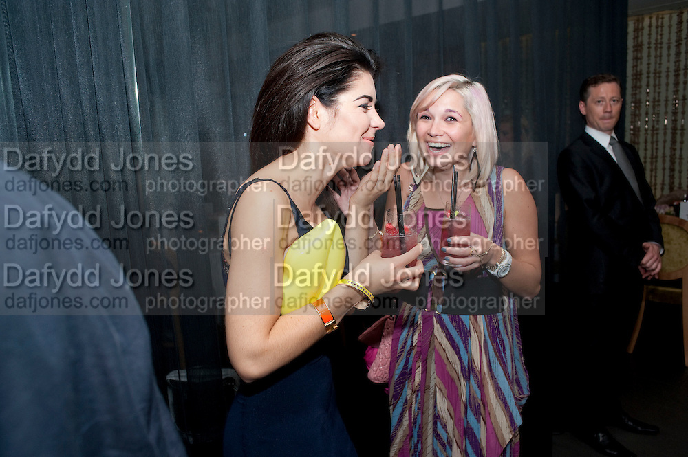 MARINA DIAMOND ( OF MARINA AND THE DIAMONDS)  LULU WENTWORTH;  , Esquire dinner celebrating being Brilliant, Young and British hosted by editor Jeremy Langmead at Aqua Nueva, Fifth Floor, 240 Regent Street , London 1 June 2010. -DO NOT ARCHIVE-© Copyright Photograph by Dafydd Jones. 248 Clapham Rd. London SW9 0PZ. Tel 0207 820 0771. www.dafjones.com.