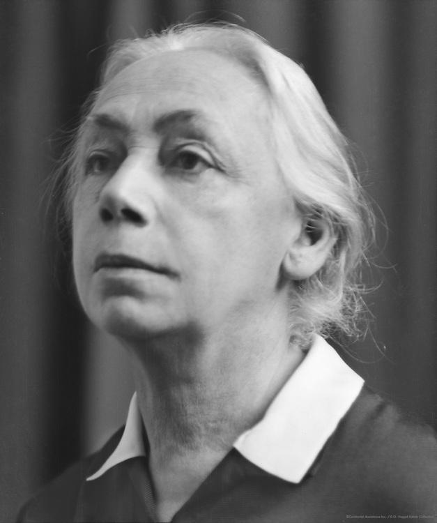 Kathe Kollwitz, professor  printmaker and sculptor, 1926