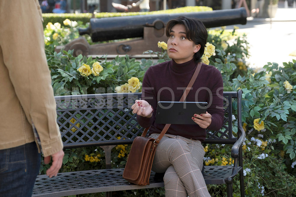 """RUTHERFORD FALLS -- """"Negotiations"""" Episode 106 -- Pictured: Jesse Leigh as Bobbie Yang --   (Photo by: Colleen Hayes/Peacock)"""