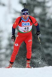 Tomas Holubec (CZE) at Men 20 km Individual at E.ON Ruhrgas IBU World Cup Biathlon in Hochfilzen (replacement Pokljuka), on December 18, 2008, in Hochfilzen, Austria. (Photo by Vid Ponikvar / Sportida)