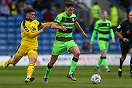 Forest Green Rovers Paul Digby(20) runs forward during the The FA Cup 1st round match between Oxford United and Forest Green Rovers at the Kassam Stadium, Oxford, England on 10 November 2018.
