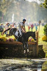 Martens Vincent (BEL) - Eiskonig<br /> Cross country 6 years old horses<br /> Mondial du Lion - Le Lion d'Angers 2014<br /> © Dirk Caremans<br /> 18/10/14