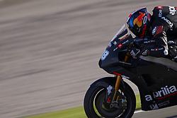 November 21, 2018 - Valencia, Spain - Bradley Smith (38) of England during the test of the new MotoGP season 2019 at Ricardo Tormo Circuit in Valencia, Spain on 21th Nov 2018  (Credit Image: © Jose Breton/NurPhoto via ZUMA Press)