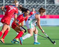 ANTWERPEN -  Ireland-Russia (3-2) . Belfius Eurohockey Championship (women) hockey. Shirley McCay (Irl)  WSP/ KOEN SUYK
