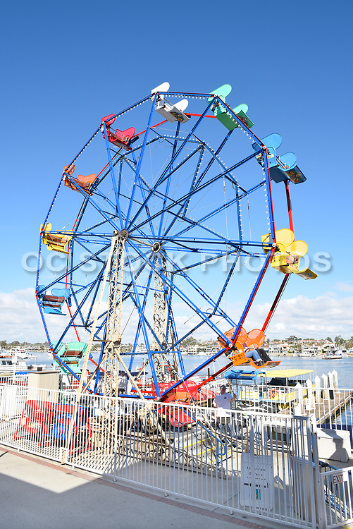 Balboa Fun Zone Ferris Wheel Newport Beach California