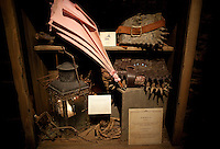 """The Monstors book of Monstors at the """"Harry Potter"""" exhibition at Discovery Times in New York. ..Photo by Robert Caplin."""