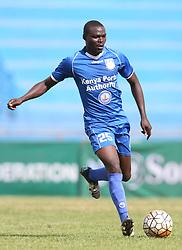 Andrew Waisaw of Bandari FC in action against Sony Sugar during their GOTv Shield quarter finals at Nyayo Stadium in Nairobi on August 19, 2017. Sony won 3-1. Photo/Fredrick Omondi/www.pic-centre.com(KENYA)