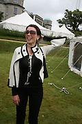 DANNI MINOGUE, Cartier Style et Luxe lunch. Goodwood.  24 June 2007.  -DO NOT ARCHIVE-© Copyright Photograph by Dafydd Jones. 248 Clapham Rd. London SW9 0PZ. Tel 0207 820 0771. www.dafjones.com.