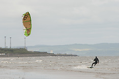 Kite Surfer, Edinburgh, 22 May 2018
