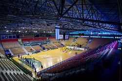 Arena Zlatorog prior to the handball match between RK Celje Pivovarna Lasko and RK Gorenje Velenje in 5th Round of 1. NLB Leasing Handball League 2012/13 on October 3, 2012 in Arena Zlatorog, Celje, Slovenia. (Photo By Vid Ponikvar / Sportida)
