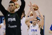 Biella, 15/12/2012<br /> Basket, All Star Game 2012<br /> Allenamento Nazionale Italiana Maschile <br /> Nella foto: stefano gentile<br /> Foto Ciamillo