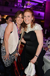 CHRISSIE HYNDE and SARAH, DUCHESS OF YORK at the Caudwell Children's annual Butterfly Ball held at The Grosvenor House Hotel, Park Lane, London on 15th May 2014.