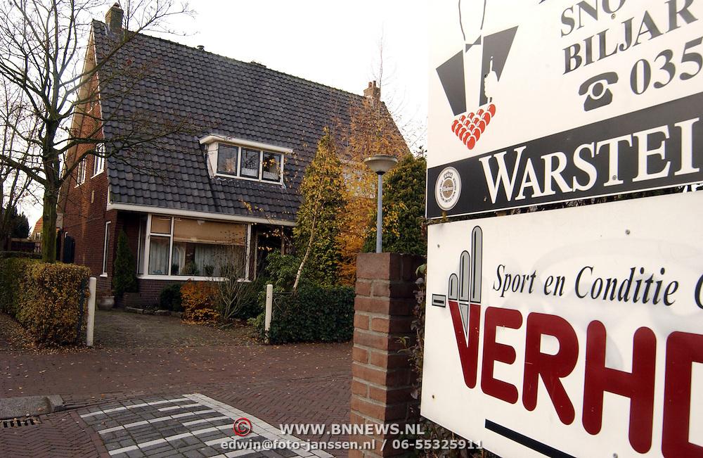 Sportcentrum Verhoef tussen woningen aan de Keucheniusstraat Huizen