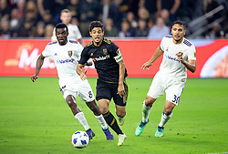 November 1, 2018 - Los Angeles, California, U.S - Carlos Vela #10 of the LAFC with the ball during their MLS playoff game with the  Real Salt Lake on Thursday November 1, 2018 at Banc of California Stadium in Los  Angeles, California. LAFC lost to Real Salt Lake, 3-2. (Credit Image: © Prensa Internacional via ZUMA Wire)