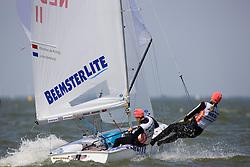 08_003157 © Sander van der Borch. Medemblik - The Netherlands,  May 24th 2008 . Day 4 of the Delta Lloyd Regatta 2008.