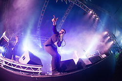 Spector play the Transmissions tent on Sunday at T in the Park 2012, held at Balado, in Fife, Scotland..