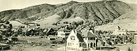 1906 Looking northwest from Hollywood Blvd. & Highland Ave.