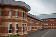 The exterior of H wing at YOI Aylesbury. Buckinghamshire, United Kingdom. HMYOI / HM Prison Aylesbury (Her Majesty's Young Offender Institution Aylesbury) is a prison is operated by Her Majesty's Prison Service.