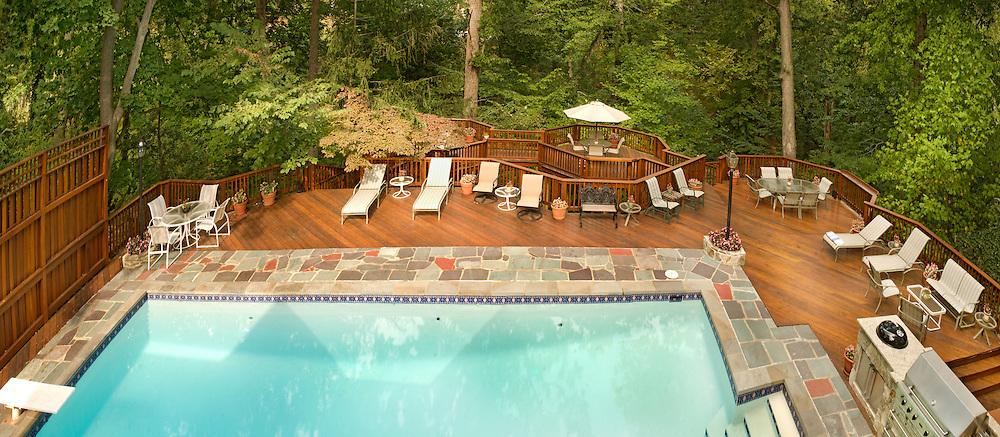 swimming pool Swimming pool Deck patio Verandah Porch Pool pool house