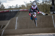 #15 (SEGERS Wouter) BEL at the 2018 UCI BMX Superscross World Cup in Saint-Quentin-En-Yvelines, France.