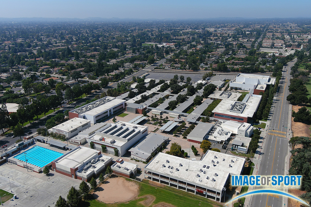 A general view of Arcadia High School, Sunday, Sept. 20, 2020, in Arcadia, Calif.