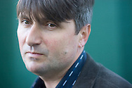 One of Britain's most powerful and popular poets, Simon Armitage, pictured at the Edinburgh International Book Festival where he talked about his work. The Book Festival was the World's largest literary event and featured writers from around the world. The 2007 event featured around 550 writers and ran from 11-27 August.