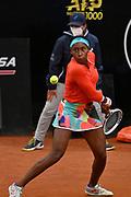 Foto Fabrizio Corradetti - LaPresse<br /> 14/05/2021 Roma ( Italia)<br /> Sport Tennis<br /> Quarto di finale<br /> Ashleigh Barty (AUS) vs Cori Gauff (USA)<br /> Internazionali BNL d'Italia 2021<br /> Nella foto: Cori Gauff <br /> <br /> Photo Fabrizio Corradetti - LaPresse<br /> 14/05/2021 Roma (Italy)<br /> Sport Tennis<br /> Quarte final<br /> Ashleigh Barty (AUS) vs Cori Gauff (USA)<br /> Internazionali BNL d'Italia 2021<br /> In the pic: Cori Gauff