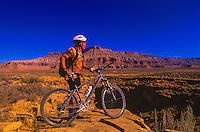 Mountain Biking, J.E.M. Trail, near Virgin, Utah