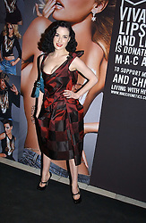 DITA VON TEES at a party to celebrate Pamela Anderson's new role as spokesperson and newest face of the MAC Aids Fund's Viva Glam V Campaign held at Home House, Portman Square, London on 21st April 2005.<br /><br />NON EXCLUSIVE - WORLD RIGHTS