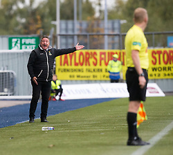 Inverness Caledonian Thistle's manager John Robertson. Falkirk 0 v 0 Inverness Caledonian Thistle, Scottish Championship game played 14/10/2017 at The Falkirk Stadium.