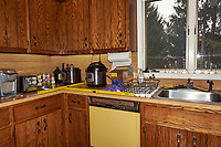The Kitchen Before Renovation.  360 Degree View of the Kitchen. Images taken every 15 degrees with a Fuji X-T1 camera and 16 mm f/1.4 lens (ISO 400, 16 mm, f/8, 1/60 sec), popup flash