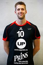 20140918 NED: Teampresentatie Prins VCV 2014 - 2015, Veenendaal<br /> Wouter van Ark, (10) Captain Prins VCV<br /> ©2014-FotoHoogendoorn.nl / Pim Waslander