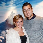 NLD/Amsterdam/20150914 - Premiere 3D Imax film Everest, Priscilla Knetemann en partner Mick