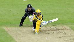 Will Smith of Hampshire reverse sweeps - Mandatory by-line: Robbie Stephenson/JMP - 19/06/2016 - CRICKET - Cooper Associates County Ground - Taugnton, United Kingdom - Somerset v Hampshire - NatWest T20 Blast