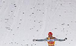 30.12.2017, Schattenbergschanze, Oberstdorf, GER, FIS Weltcup Ski Sprung, Vierschanzentournee, Garmisch Partenkirchen, Wertungsdurchgang, im Bild Richard Freitag (GER) // Richard Freitag (GER) during his Competition Jump for the Four Hills Tournament of FIS Ski Jumping World Cup at the Schattenbergschanze in Oberstdorf, Germany on 2017/12/30. EXPA Pictures © 2017, PhotoCredit: EXPA/ JFK
